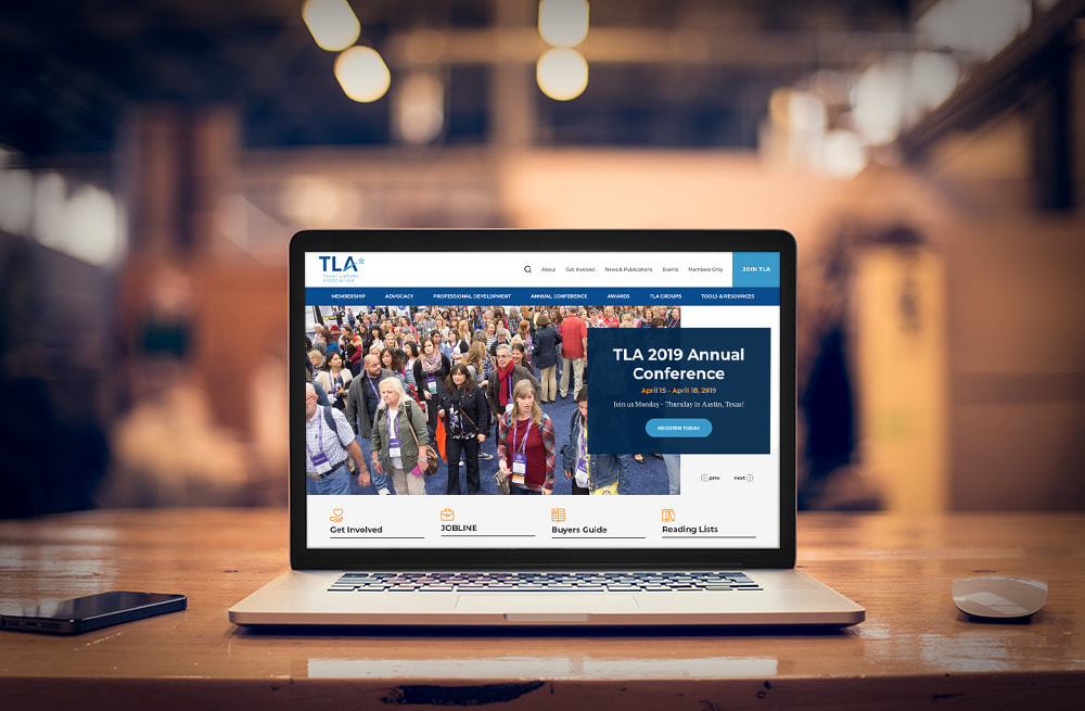 Texas Library Association New Website Launch