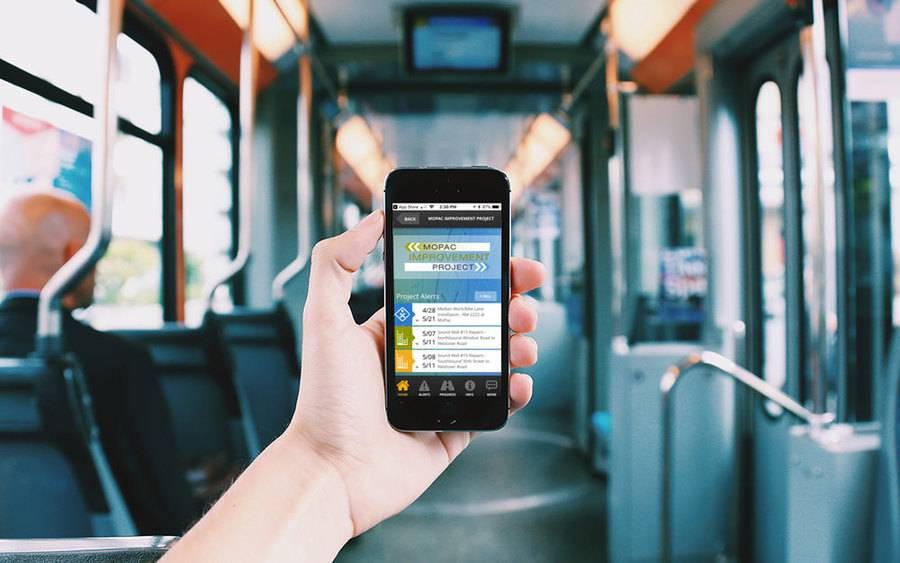 Transportation mobile app examples