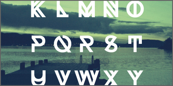 20 Fresh Free Fonts for Designers: Summer 2013