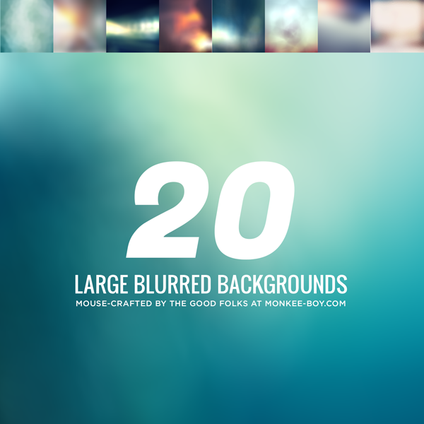 20 Free Blurred Backgrounds
