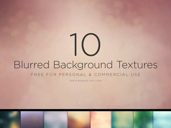 10 Free Large Blurred Backgrounds
