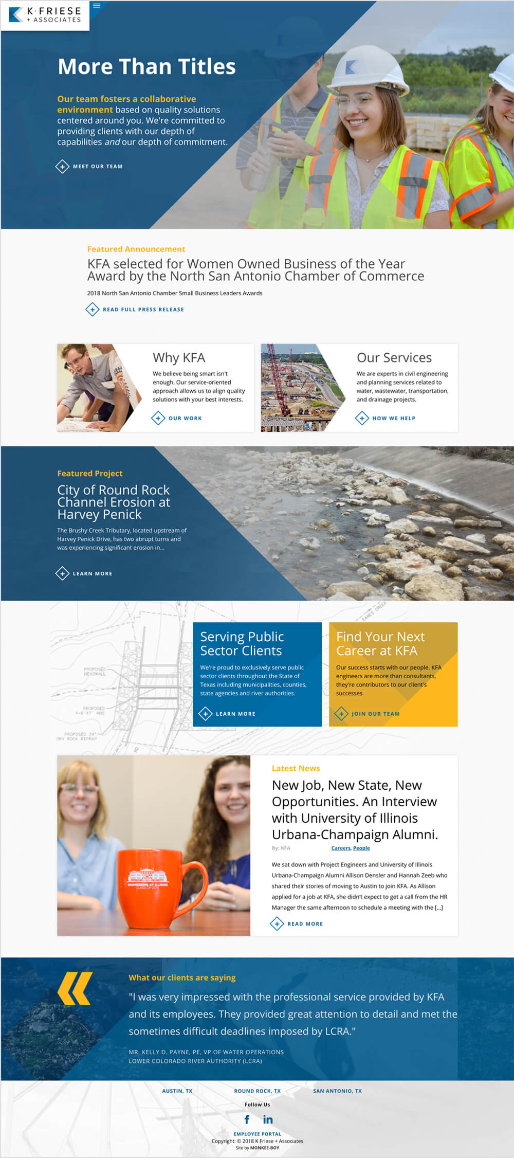 K Friese & Associates Home Page