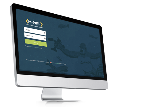 M-Pire Enterprise Custom CMS, Austin Web Development